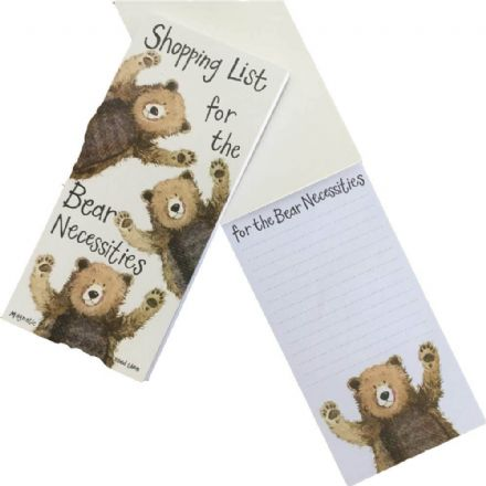 Shopping List for the Bear Necessities Magnetic Pad